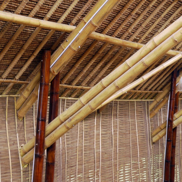 Bamboo Building Architecture Bali Indonesia